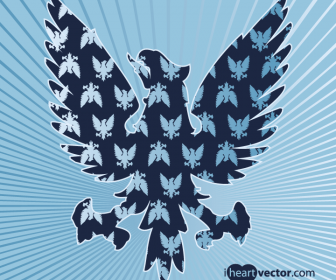 Free Eagle Vector Patterns
