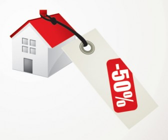 House for Sale Vector Graphics