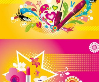 Makeup Graphics Pattern Vector Pack