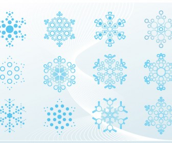 Snowflake Ornaments Graphic Art