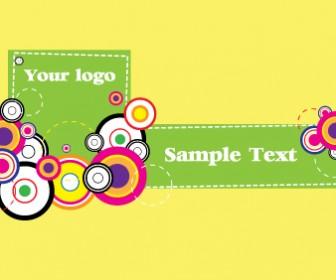 Retro Cards Design Colorful Vector
