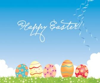 Easter Egg Vector Art Freebies Pack