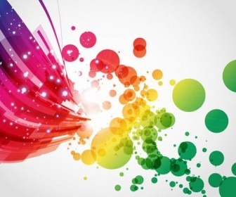 Colorful Abstract Vector Background Art