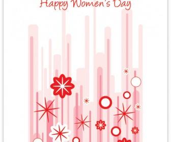 Happy Women's Day Vector Graphics