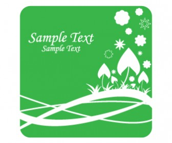 Green Nature Business Card