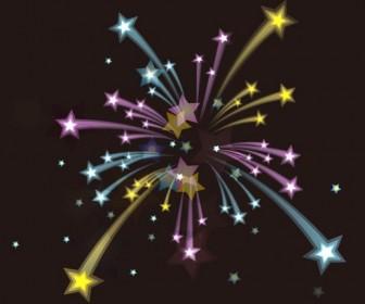 Fireworks Holiday Background