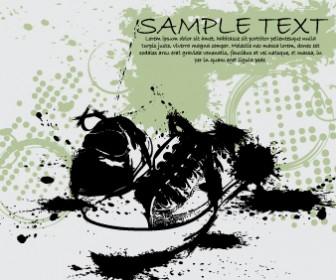 Retro Shoes Graphic Card