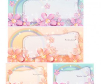 Free Floral Frame Art Background