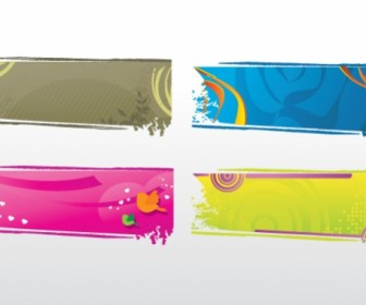 Banners Collection Free Vector Graphics