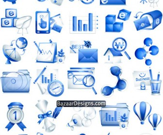 Free Icon Set Freebies Blue Pack