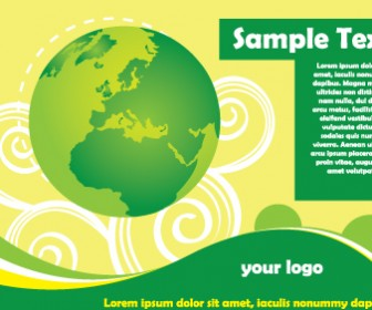 Green Planet Earth Card