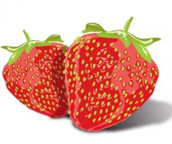 Strawberry Icon Freebies Vector Graphics
