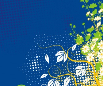 Decoration Flower Card Background