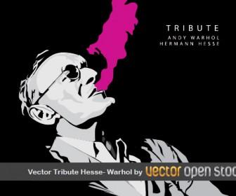 Tribute Hesse Warhol Art