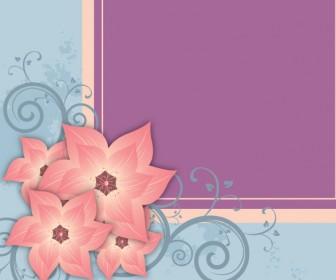 Floral Frame Beauty