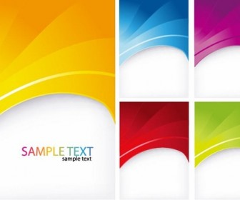 5 Colorful Abstract Backgrounds