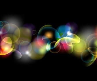 Colorful Bubble Background Art