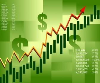 Business Graph Vector