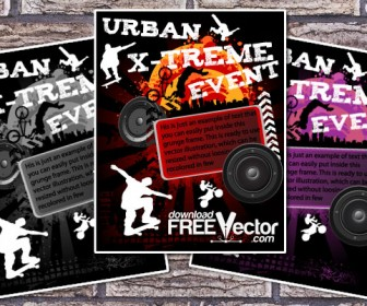 Urban Event Poster