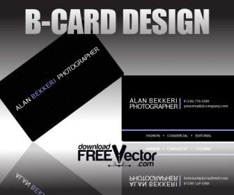 Black Card Design