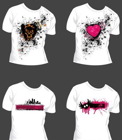 T shirt design free vector art for T shirt design vector