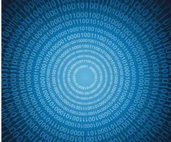 Binary Digital Background