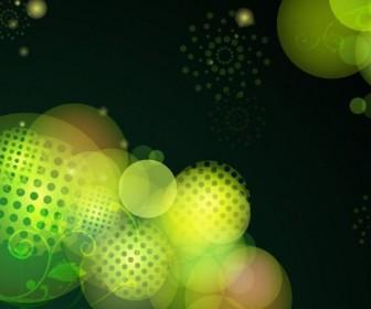 Green Bokeh Design
