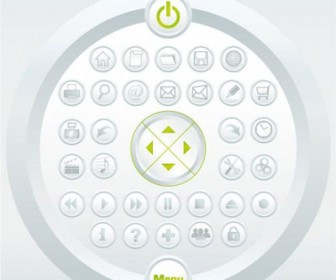 Mini Icon Set for Web Design