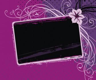 Pinky Frame Vector