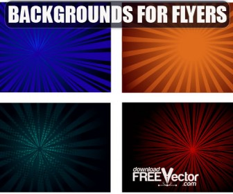 Colorful Background Flyers
