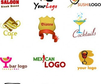 Coffee Shop & Restaurant Logos