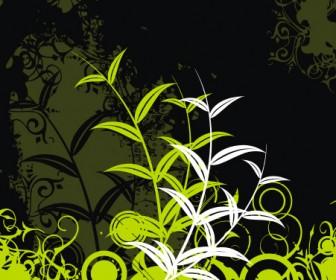 Green Field Vector