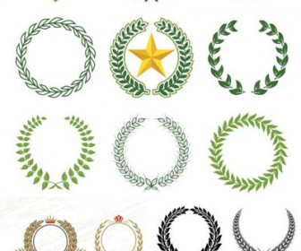 Laurel Wreaths Patterns