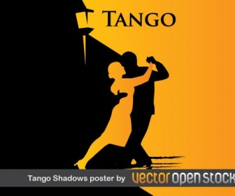 Tango Poster Silhouette Vector Graphics