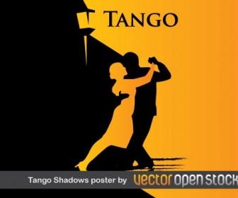 Tango Poster Silhouette Vector Graphics