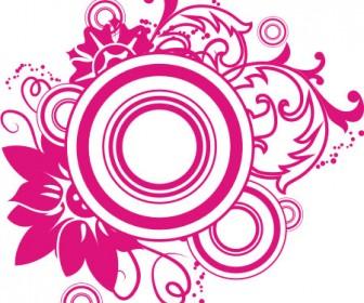 Swirl Floral Ornament