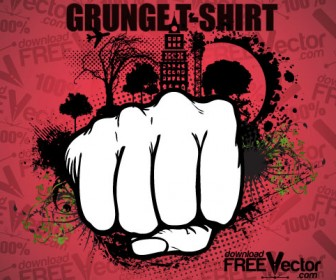 Grunge T-shirt Decoration