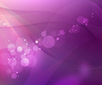 Pink Abstract Wave Background