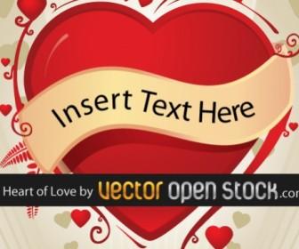 Love Heart Free Vector Art