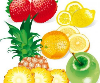 Fruits Free Vector Graphics