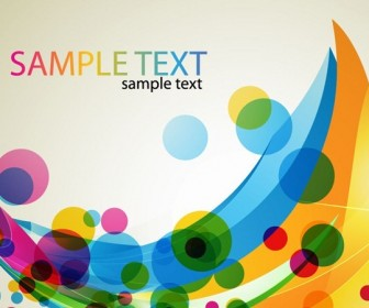 Colorful Business Card Abstract Design