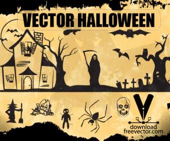 Halloween Illustration Cartoon Pack