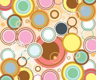 Bubble Background Ornaments