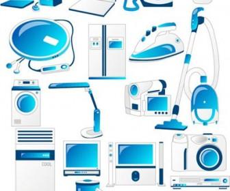 Domestic Appliances Icons