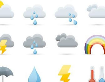 Icon Set Weather