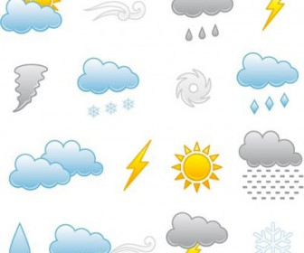 Cool Weather Icons Set