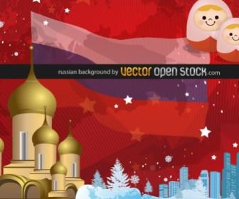 Russian Background Art