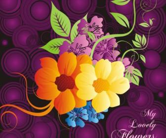 Beautiful Flowers Card Design