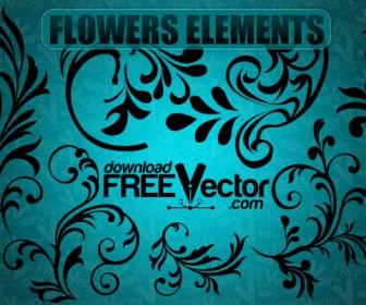 Flower Silhouette Patterns