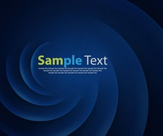 Abstract Blue Twist Background
